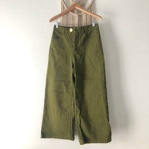 Whimsy & Row Flora Pant in Olive